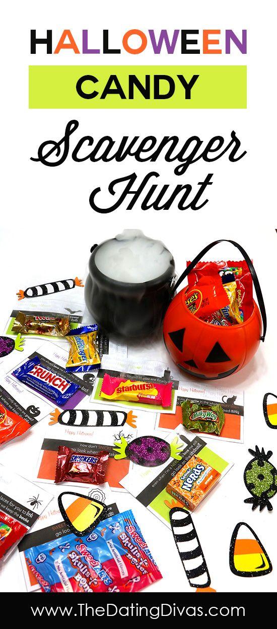 FREE Halloween Printable Halloween scavenger hunt
