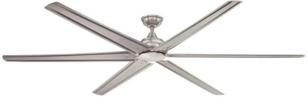 Home decorators collection fenceham 84 in brushed nickel indoor ceiling fan new homedecoratorscollection