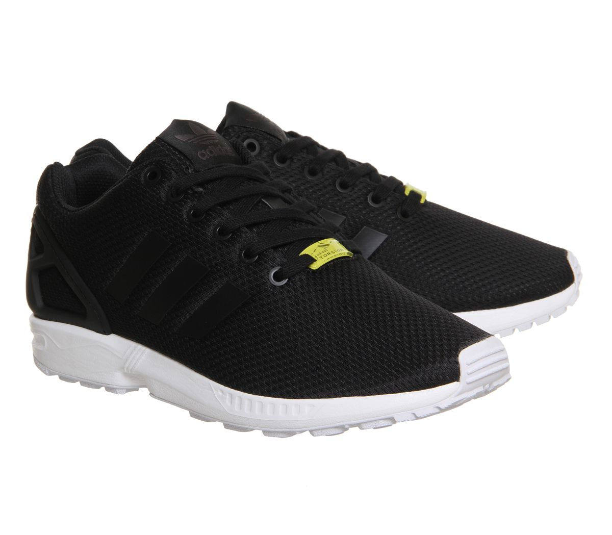 sale retailer 3a0c3 ada94 ... germany buy black white adidas zx flux from office. fa457 5e8b4
