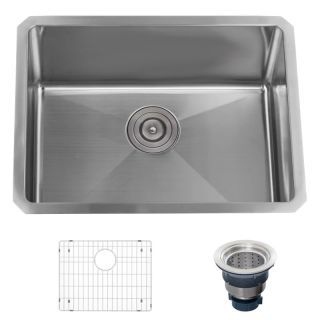 Miseno Mss2318sr Stainless Steel Utility Sink Stainless Steel