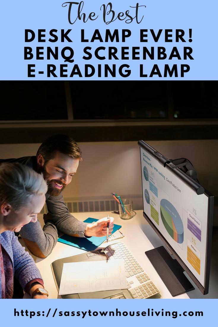 The Best Desk Lamp Ever Benq Screenbar E Reading Lamp The Best