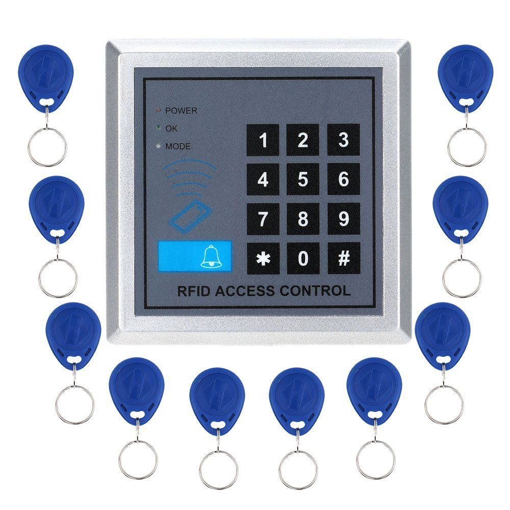 Yobangsecurity door lock access control system with pcs rfid