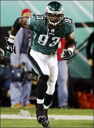 Jevon Kearse # 93 Philadelphia Eagles DE College:Florida | NFL ...