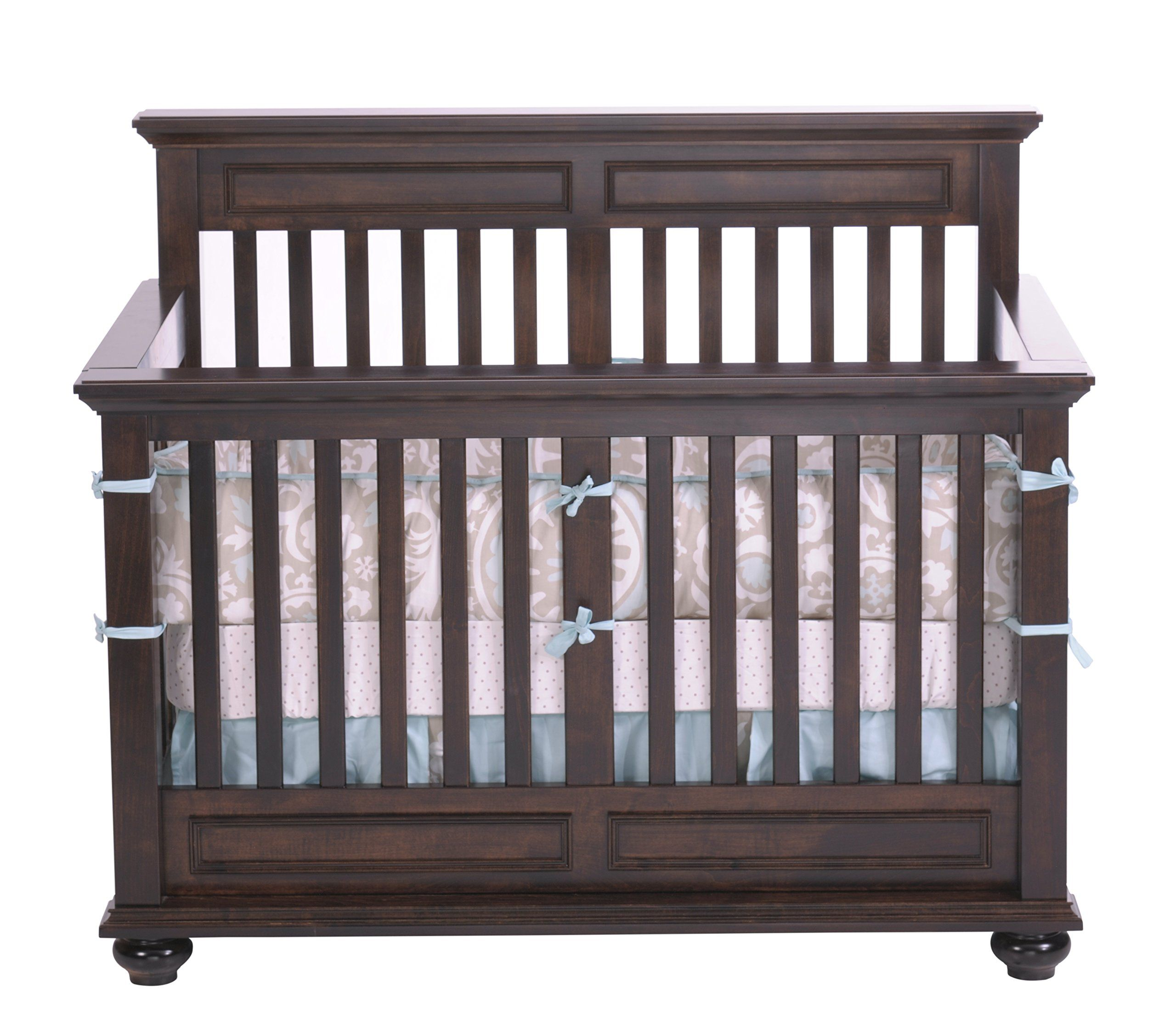 Baby cribs not made in china - Capretti Design Umbria Convertible Crib Natural Scratch Resistant Finish Made Of 100