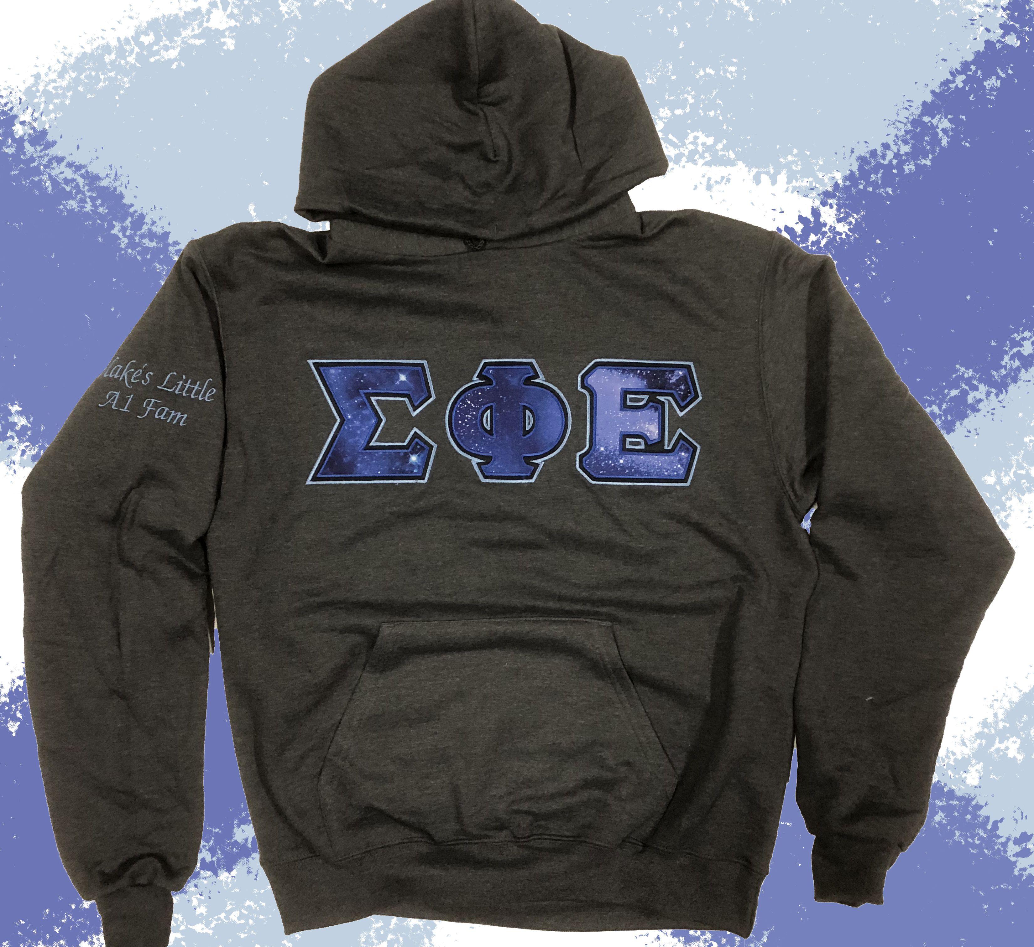 Custom Greek Sweatshirts Champion Fraternity Hoodie Add Your Stitch Letters Designergreek Sweatshirts Champion Hooded Sweatshirt Letter Sweatshirt [ 3024 x 3300 Pixel ]