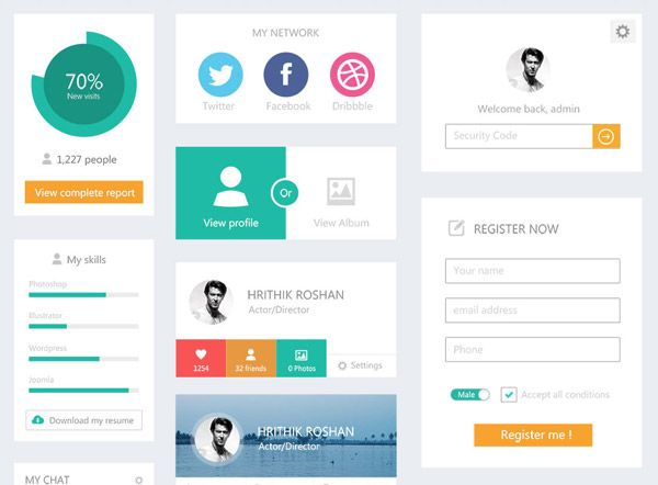 Ui Design Ideas mariusz ciela Explore Flat Ui Flat Icons And More