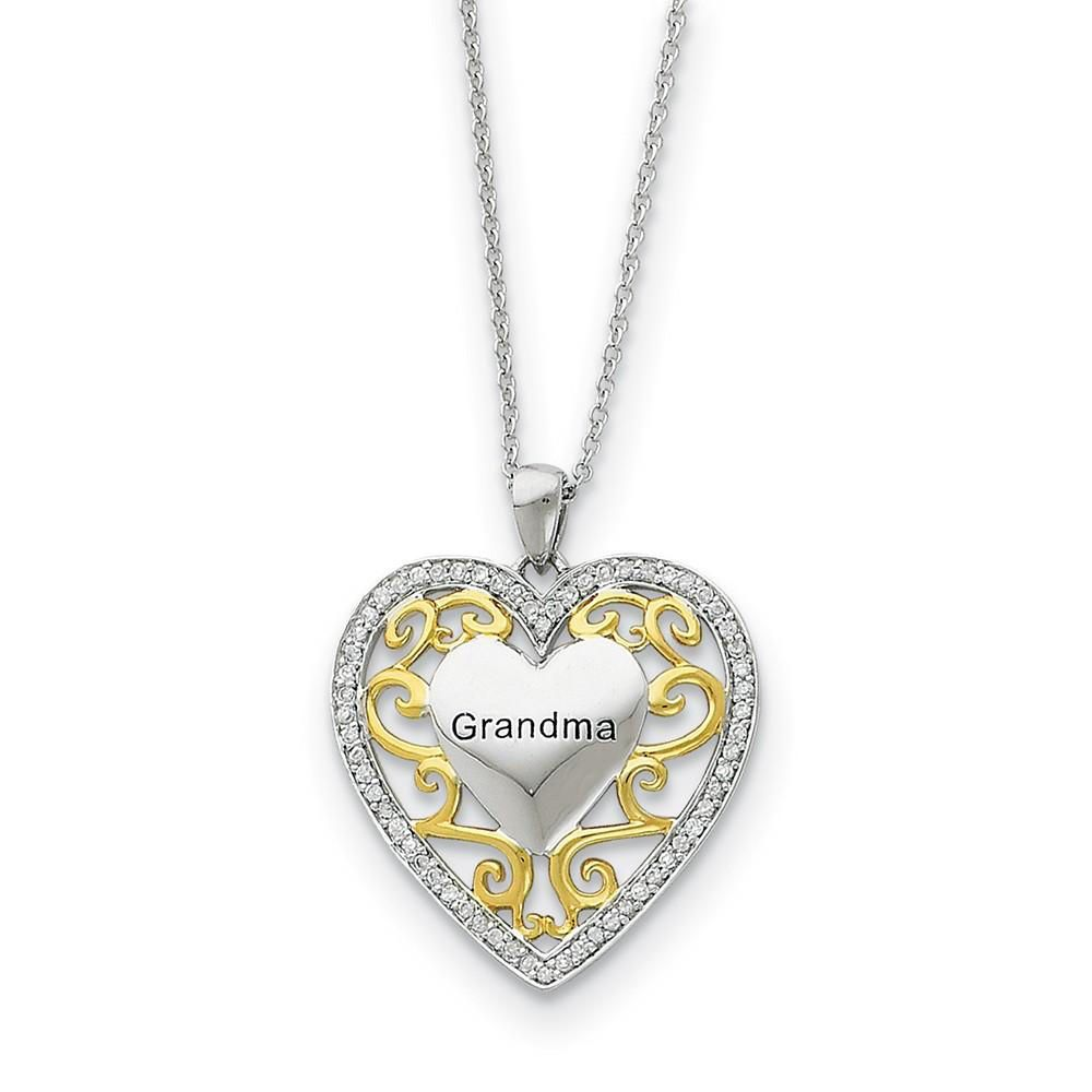 4x3 mm Silver Plated Heart Chain, Silver Plated Brass Heart Chain