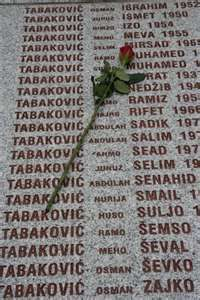 Genocide Memorial, Srebrenica, Bosnia and Herzegovina