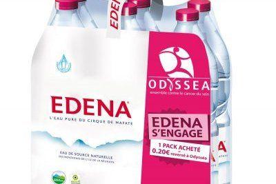 Edena s\'engage aux côtés d\'Odyssea contre le cancer du sein