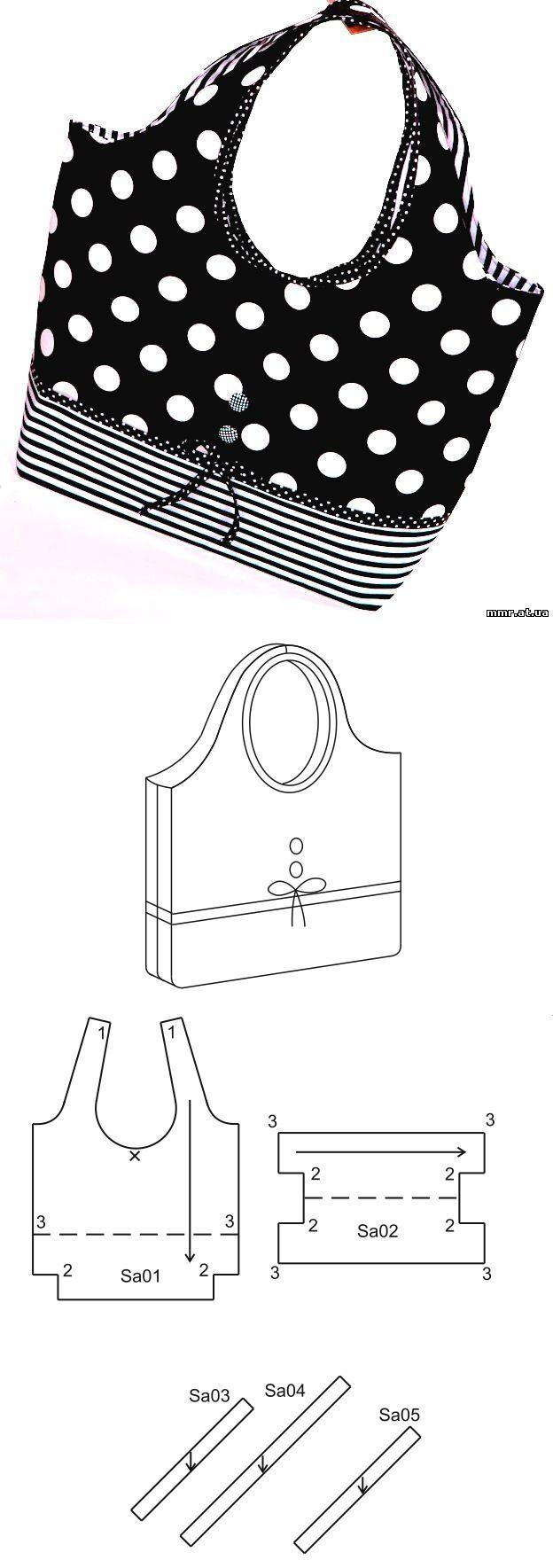 Pin de Joseane Grossl Kock en Bolsa | Pinterest | Bolsos, Costura y Tela