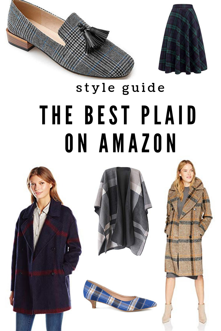 The best plaid for your closet on amazon fashion favorites for