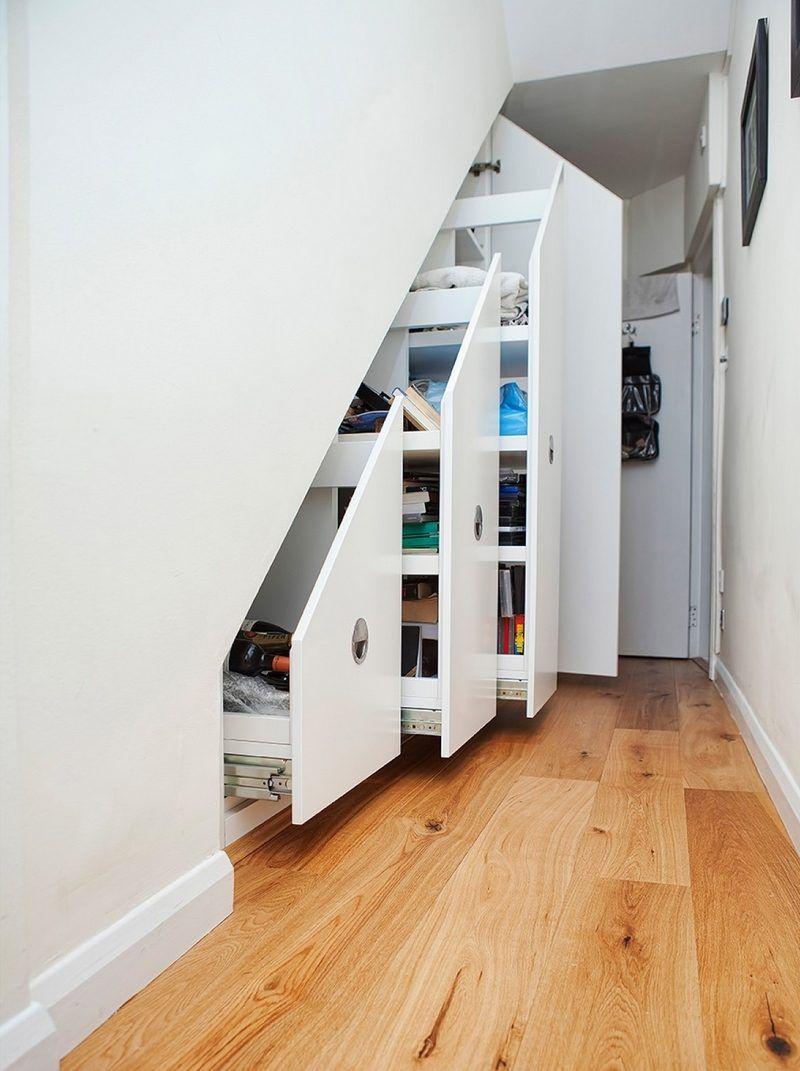 Rangement Sous Escalier Et Idees D Amenagement Alternatif Meuble