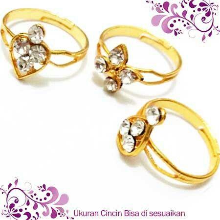 Cincin Diamond Isi 3 18rb Reseller Jakarta Ready Www Tokoaksesorisku Com 082344151501 7fcfa6cd Cincinanak Cincinfa Cincin Aksesoris Aksesoris Wanita