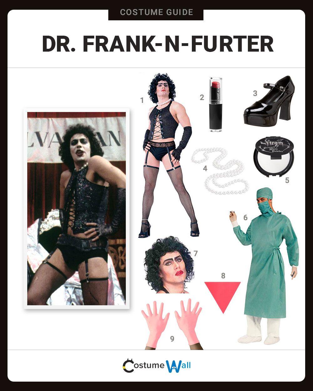 Dress Like Dr Frank N Furter Rocky Horror Rocky Horror Costumes Horror Costume