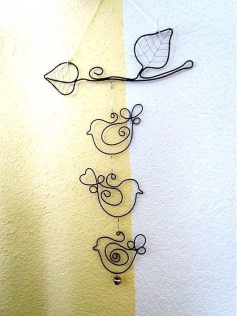 Photo of 33 awesome wire crafts to do cool things …