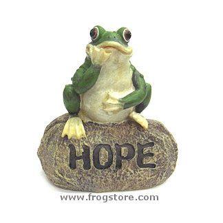 Little Garden Frog: HOPE