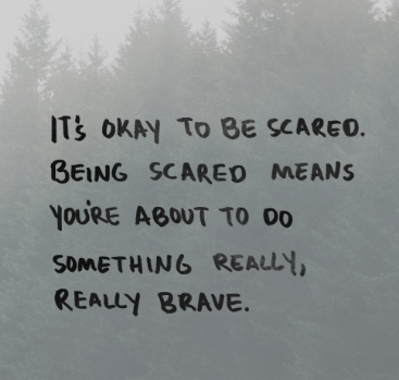 60 Quotes About Being Scared Quotes Pinterest Quotes Scared Mesmerizing Meaningful Senior Quotes