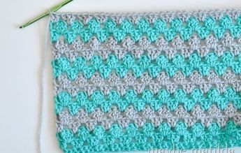 Incredibly Fast And Easy Baby Blanket Crochet Pattern Crochet