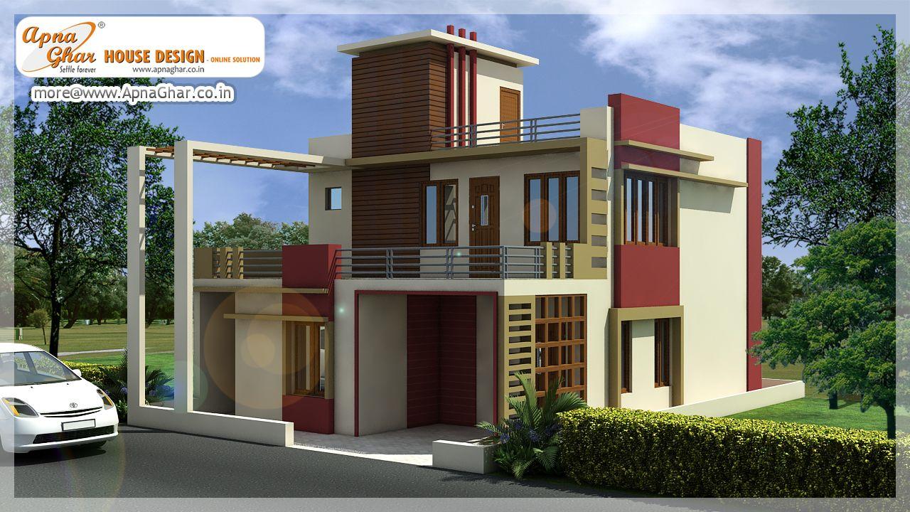 4 Bedrooms Duplex House Design In 150m2 10m X 15m Click Here
