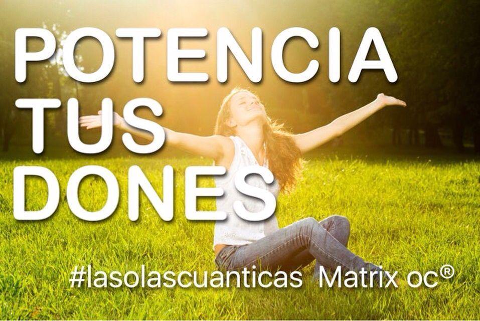 EL CURSO DE LAS OLAS DE MATRIX  NIVELES 1+2 BARCELONA 27/28 FEBRERO MADRID 5/6 MARZO ZARAGOZA 11/12/13 MARZO +INFO http://cursosyeventosmatrix.blogspot.com.es/2015/11/matrix-oc-agenda-de-cursosseminarios.html?m=1 #lasolascuanticas Matrix es una Terapia Cuántica energética que se basa en la física cuántica, que descubrió la existencia de un campo de energía a través del cual se conecta todo lo que existe en el universo.