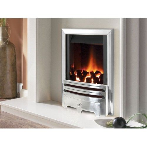 designer fire flavel firc37mn silver warwick gas fire mc