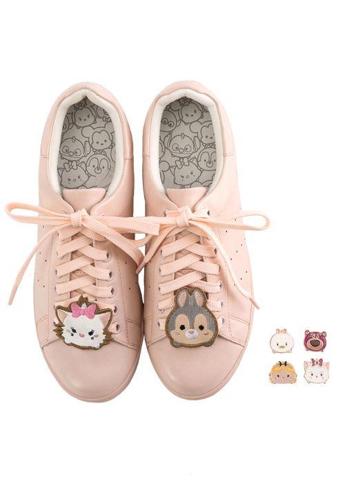 Grace gift 官方購物網站 - Tsum Tsum飾釦徽章運動休閒鞋 | Tsum Tsum ...