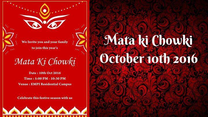 Mata Ki Chowki Oct 2016 Public School Business School