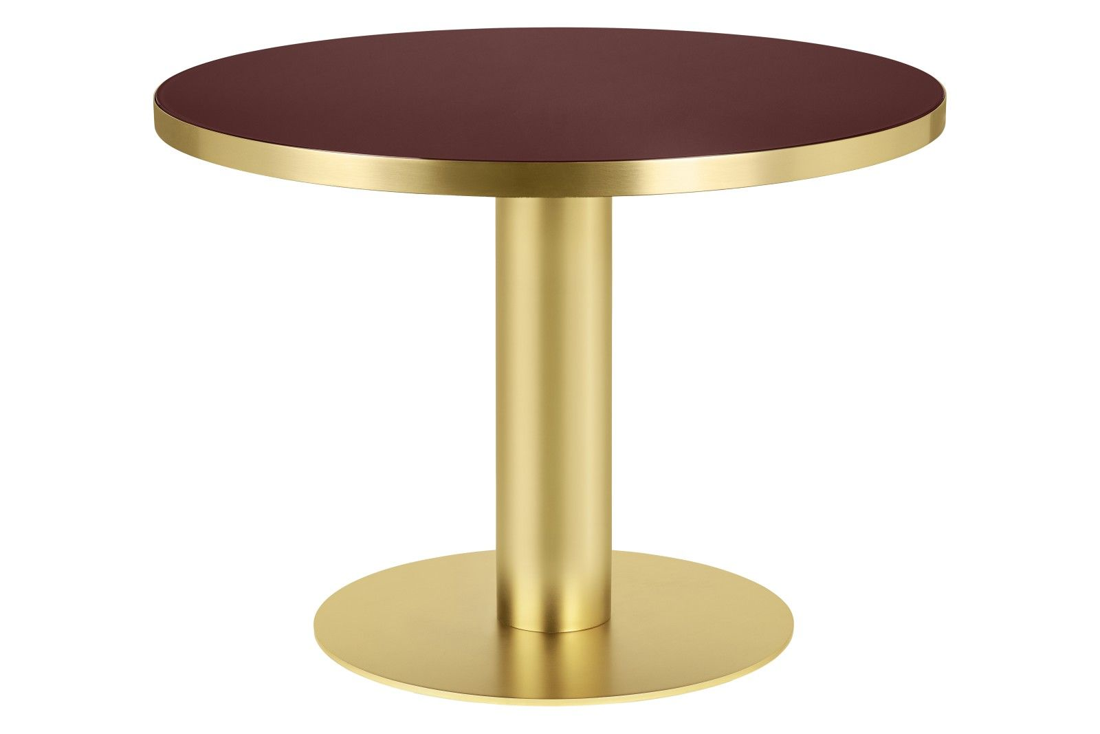 Gubi 2 0 Round Dining Table Glass From Gubi Round Dining Table