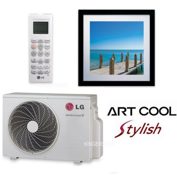 Lg Art Cool Split Air Conditioner Ductless Ac Heat Pump Seer 16