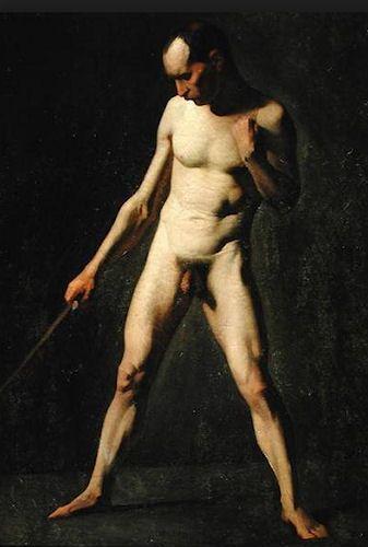 19th century artist Jean-Francois Millet, 1814–1875