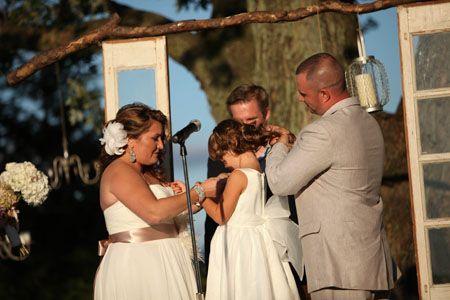 Necklace Ceremony Honoring A Stepchild
