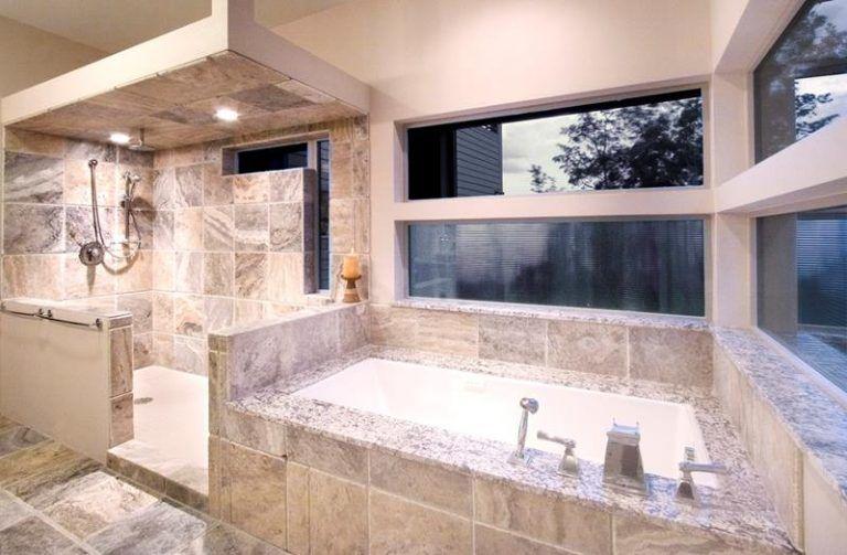 20 Stunning Large Master Bathroom Design Ideas Page 2 Of 4 Master Bathroom Design Simple Bathroom Renovation Modern Master Bathroom