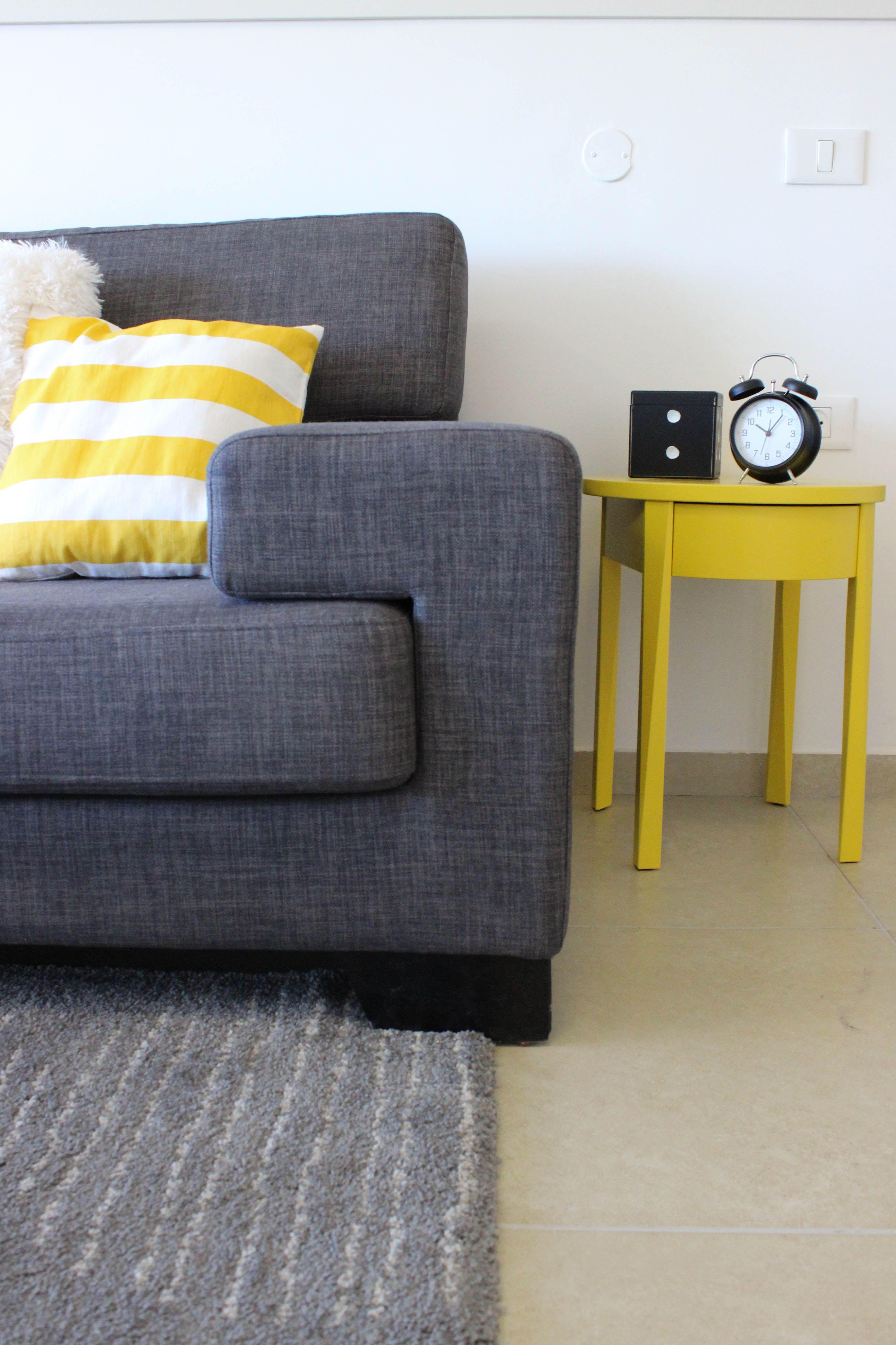Gray And Yellow Livingroom Ikea Home Decor Furniture Ikea