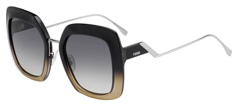 Fendi | Black Crystal Women's 0317/s 53MM 7C5 Sunglasses