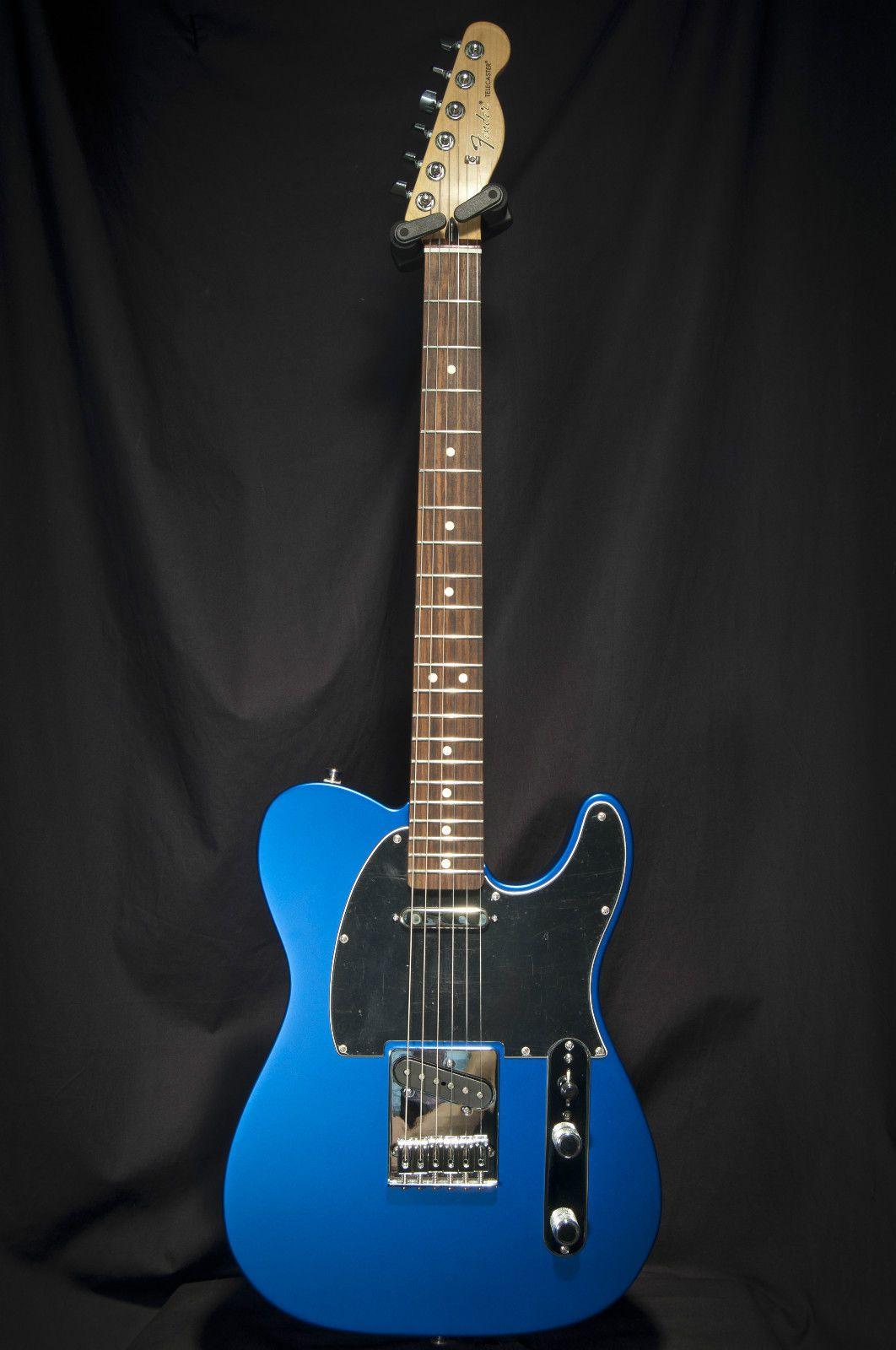 fender standard telecaster satin ocean blue electric guitar only guitar collectibles. Black Bedroom Furniture Sets. Home Design Ideas