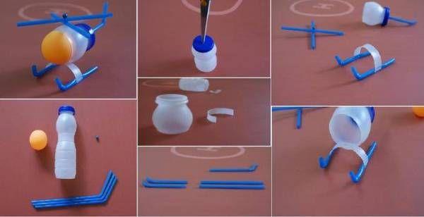 DIY Plastic Bottle Helicopter