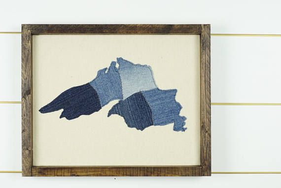 Lake Superior Wall Art Great Lakes Art Lake Superior Map Lake Art Art Lake Superior Map
