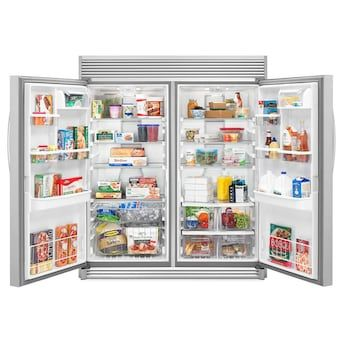 Whirlpool Sidekick 17 7 Cu Ft Frost Free Upright Freezer Lowes Com In 2020 Upright Freezer Freezerless Refrigerator Whirlpool
