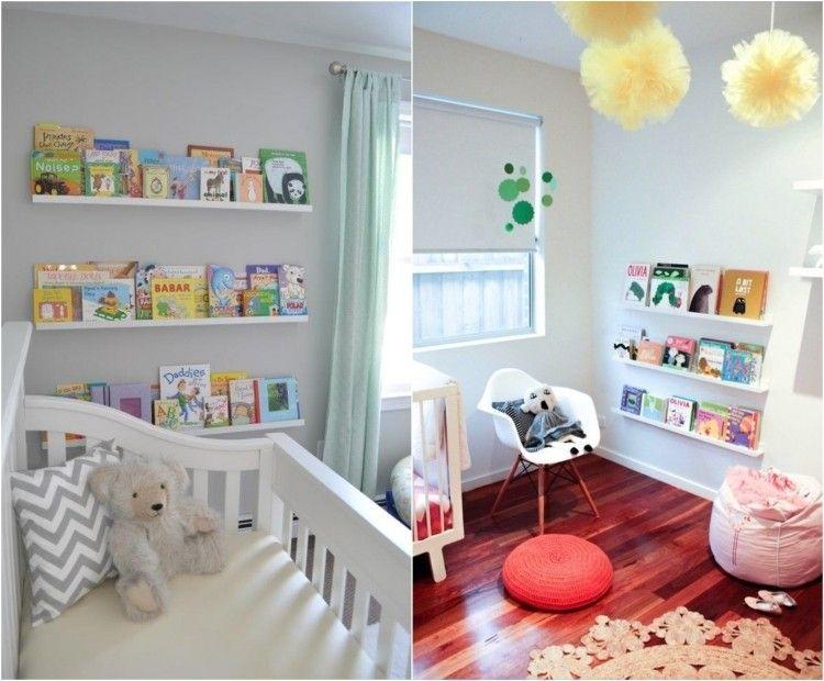 Bilderleiste Als Bücherregal Im Kinderzimmer | Ikea-hacks ... Ikea Online Babyzimmer