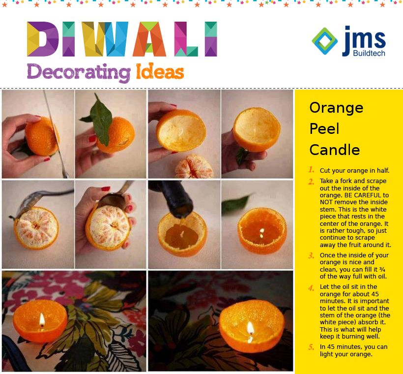 This Diwali Decorate Home Creatively with Waste Material JMS