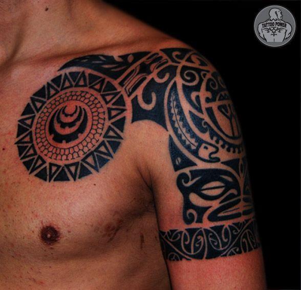 32 Beautiful Designed Polynesian Tattoos Polynesian Tattoo Tattoos Polynesian Tattoo Designs