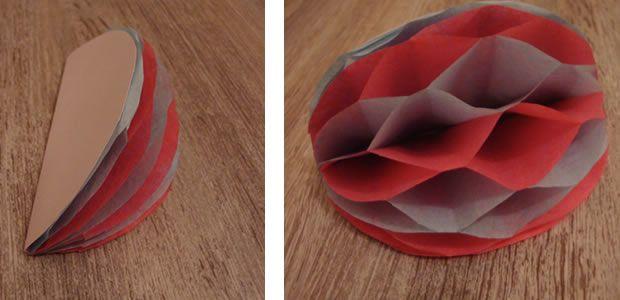 diy d co trois types de pompons en papier de soie craft. Black Bedroom Furniture Sets. Home Design Ideas
