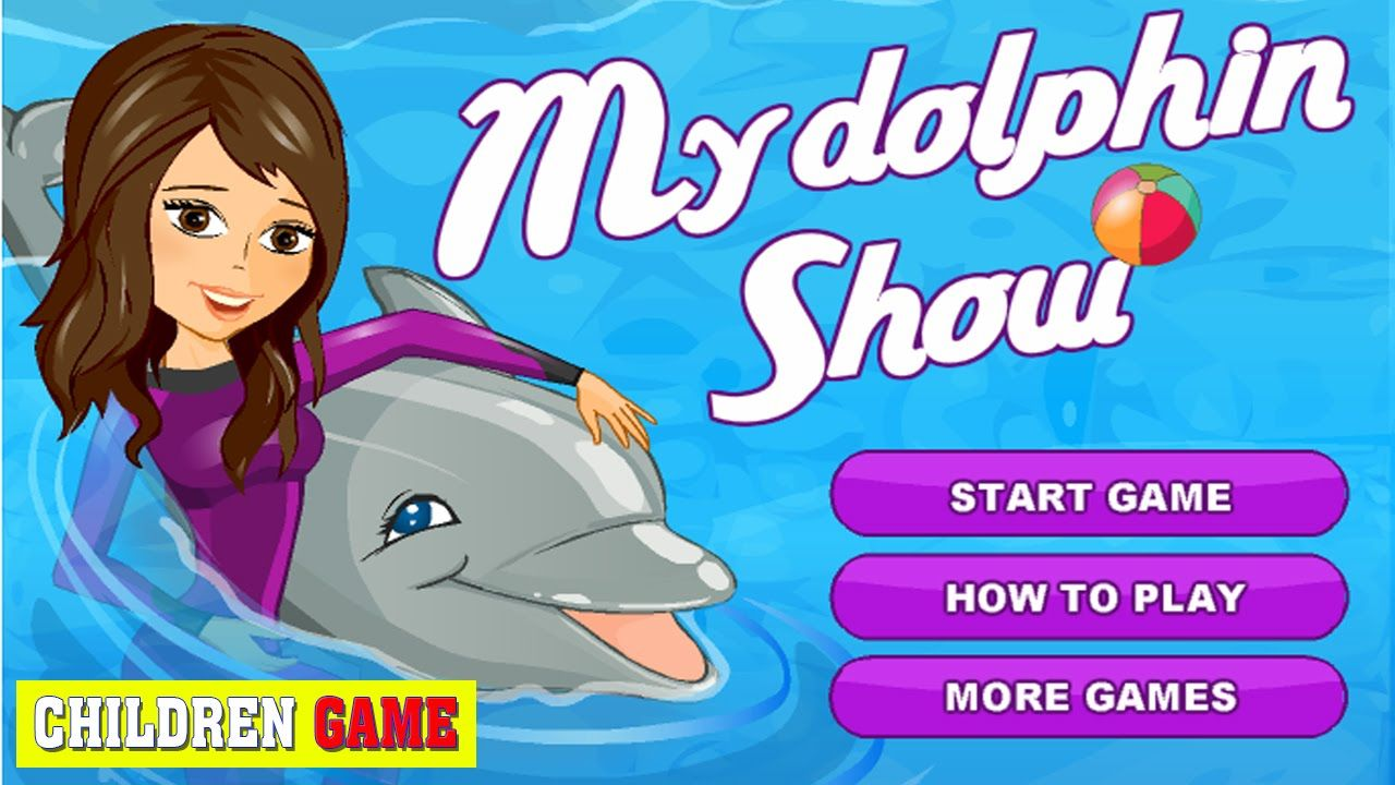 Best Baby Games For Girls Baby Game To Play My Dolphin Show Baby Girl Games Baby Games Games For Girls