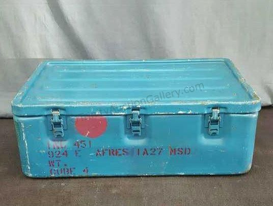 Military Water Tight Storage Container Vintage Assets Sell Live