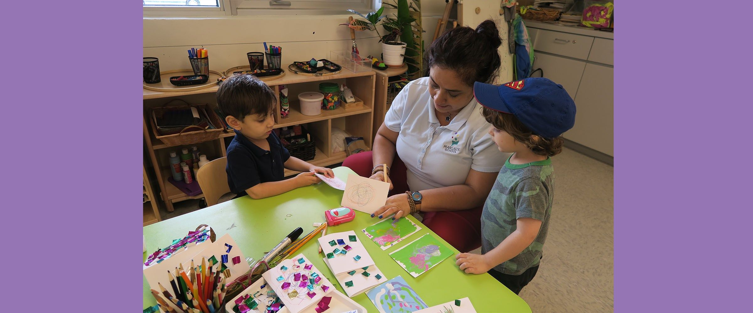 Enriching Early Childhood Experiences >> At The Margaux School At Temple Judea You Will Find Teachers Who