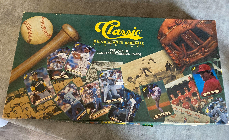1987 Classic Major League Baseball Board Game in 2020