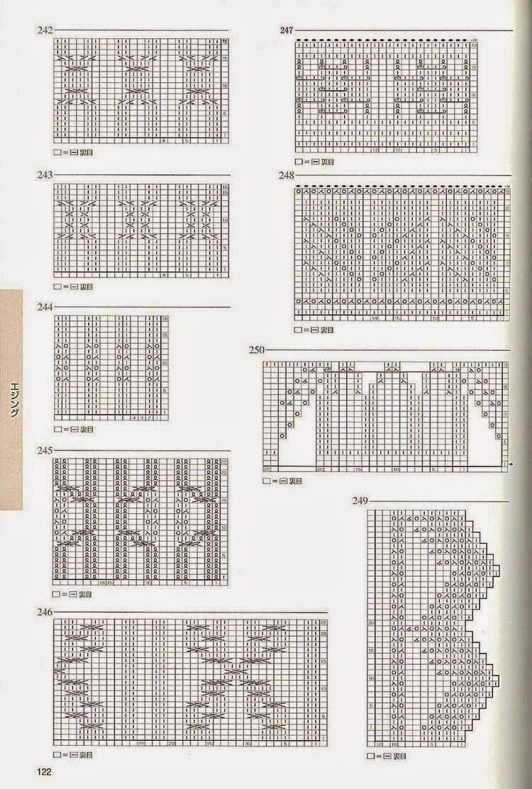 Irina: Knitting Stitches Gallery (needles)   Nuevos Puntos 2 AG ...