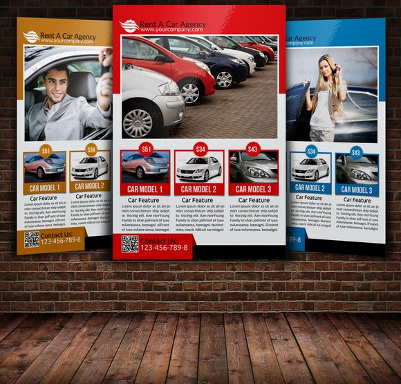 Rent A Car Flyer Template Flyer template, Flyer design templates - car flyer template