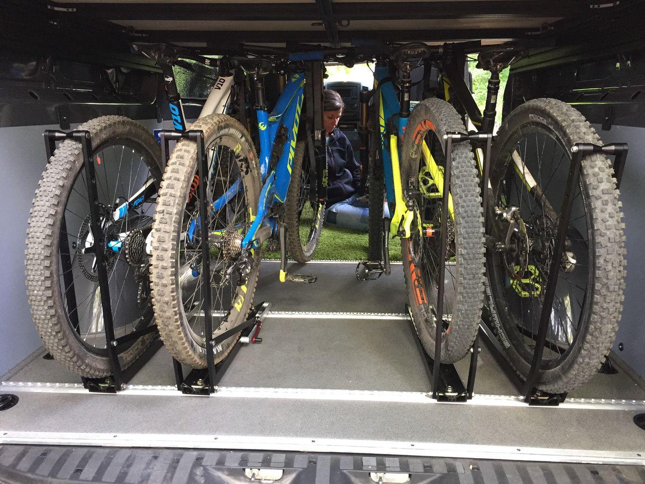 Sprinter 4x4 gear hauler and camper bike rack
