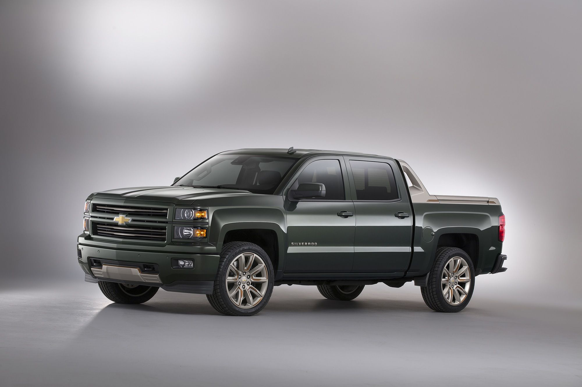Chevy silverado high desert concept sema 2014 gm authority silverado high desert concept